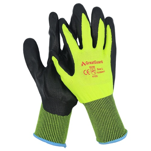 Nitrile Gloves [Colour: Green] [Size: XXL] [Pack: 1]