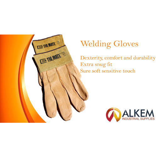 Welding Gloves [Size: L] [Pack: 1]